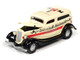 1933 Ford Panel Delivery Truck Yellow Red Stripe Game Token Monopoly 85th Anniversary Pop Culture Series 1/64 Diecast Model Car Johnny Lightning JLPC001 JLSP093