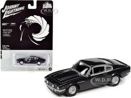1987 Aston Martin V8 James Bond 007 No Time to Die 2020 Movie Pop Culture Series 1/64 Diecast Model Car Johnny Lightning JLPC001 JLSP097