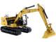 Cat Caterpillar 323 Hydraulic Excavator Next Generation Design Operator 4 Work Tools High Line Series 1/50 Diecast Model Diecast Masters 85657
