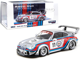 Porsche RWB 993 #11 Rough Rhythm Martini International Club Kamiwaza Racing WebStore Special Edition RAUH-Welt BEGRIFF 1/43 Diecast Model Car Tarmac Works T43-014-MA