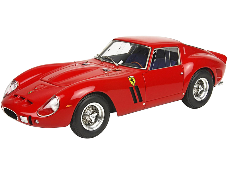1962 Ferrari 250 GTO Red DISPLAY CASE Limited Edition 300 pieces Worldwide 1/18 Model Car BBR 1807 A