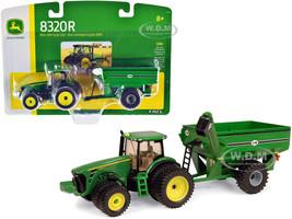 John Deere 8320R Tractor J&M Grain Cart 1/64 Diecast Models ERTL TOMY 45236