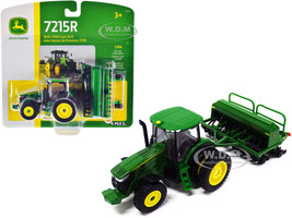 John Deere 7215R Tractor John Deere 1590 Grain Drill 1/64 Diecast Models ERTL TOMY 45433