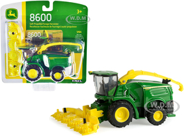 John Deere 8600 Self-Propelled Forage Harvester 1/64 Diecast Model ERTL TOMY 45510