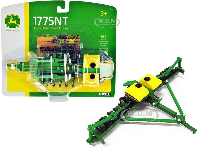 John Deere 1775NT 16-Row Planter 1/64 Diecast Model ERTL TOMY 45513