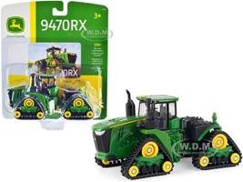 John Deere 9470RX Narrow Track Tractor 1/64 Diecast Model ERTL TOMY 45552
