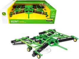 John Deere 2623VT Vertical Tillage Disc Folding Wings 1/32 Diecast Model ERTL TOMY 45549