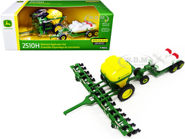John Deere 2510H Nutrient Applicator Set of 2 pieces 1/64 Diecast Models ERTL TOMY 45558