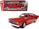 1970 Plymouth Duster 340 Hardtop Rallye Red Red Interior Black Stripes Hemmings Classic Car Magazine Cover Car September 2007 1/18 Diecast Model Car Autoworld AMM1205