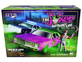 Skill 2 Model Kit 1977 Dodge Monaco Joker Resin Figurine Batman 3-in-1 Kit 1/25 Scale Model MPC MPC890