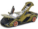 Lamborghini Sian FKP 37 Green Metallic Copper Wheels 1/18 Diecast Model Car Bburago 11046