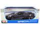 2020 Chevrolet Corvette Stingray C8 Dark Gray Metallic Racing Stripes 1/18 Diecast Model Car Maisto 31447
