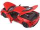 2020 Chevrolet Corvette Stingray C8 Red 1/18 Diecast Model Car Maisto 31447