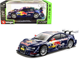 Audi A5 DTM #3 Mattias Ekstrom Red Bull Racing Race Car Series 1/32 Diecast Model Car Bburago 41152