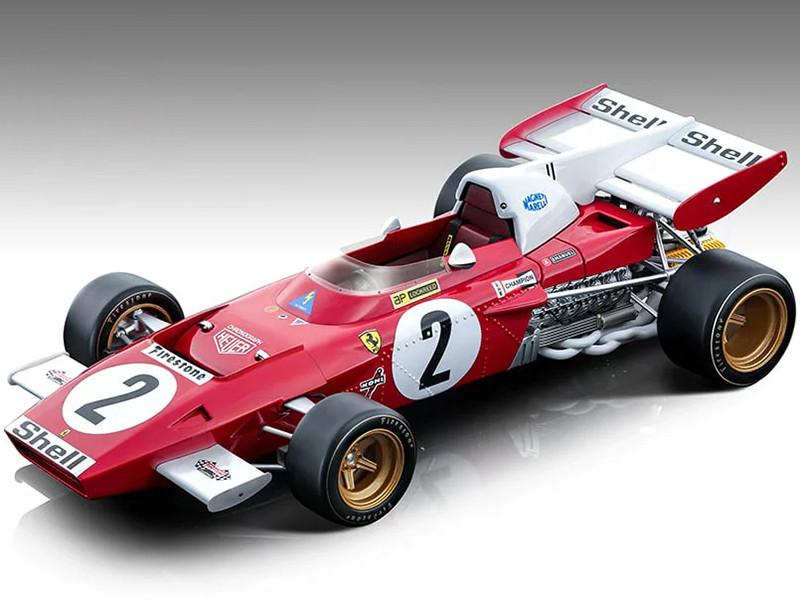 Ferrari 312 B2 #2 Jacky Ickx Formula One F1 Zandvoort GP 1971 Mythos Series Limited Edition 190 pieces Worldwide 1/18 Model Car Tecnomodel TM18-121 C