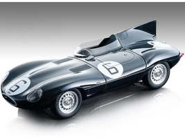 Jaguar D-Type #6 Mike Hawthorn Ivor Bueb Winners 24 Hours of Le Mans 1955 Mythos Series Limited Edition 205 pieces Worldwide 1/18 Model Car Tecnomodel TM18-157 A