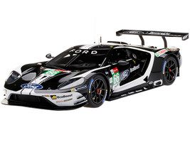 Ford GT #66 Johnson Mucke Pla Ford Chip Ganassi Team UK 24 Hours of Le Mans LM GTE-Pro 2019 1/18 Model Car Top Speed TS0279