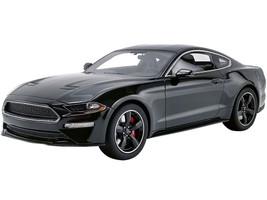2019 Ford Mustang Bullitt Shadow Black 1/18 Model Car GT Spirit ACME US017 B