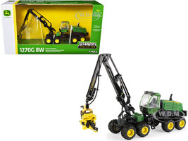 John Deere 1270G 8W Wheeled Harvester Prestige Collection 1/50 Diecast Model ERTL TOMY 45560