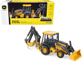 John Deere 310SL Backhoe Loader Prestige Collection 1/50 Diecast Model ERTL TOMY 45561