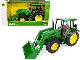 John Deere 5125R Tractor 540R Loader 1/16 Diecast Model ERTL TOMY 45604