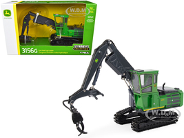 John Deere 3156G Live Heel Loader Prestige Collection 1/50 Diecast Model ERTL TOMY 45609