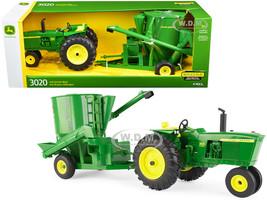 John Deere 3020 Tractor Grinder Mixer 1/16 Diecast Model ERTL TOMY 45650