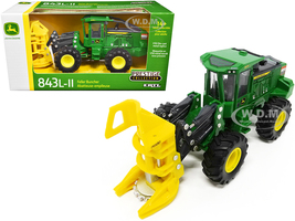 John Deere 843L-II Wheeled Feller Buncher Prestige Collection 1/50 Diecast Model ERTL TOMY 45678