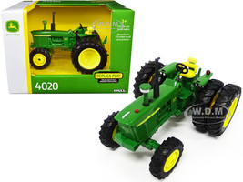 John Deere 4020 Tractor Dual Rear Wheels 1/32 Diecast Model ERTL TOMY 45681