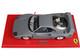 Ferrari F40 Sultan of Brunei Gun Metal Gray Red Stripes DISPLAY CASE Limited Edition 200 pieces Worldwide 1/18 Model Car BBR P18167