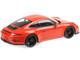 2016 Porsche 911 R Lava Orange Black Wheels 1/12 Diecast Model Car Minichamps 125066324