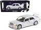 1990 Mercedes Benz 190E 2.5-16 EVO 2 Silver Metallic Limited Edition 804 pieces Worldwide 1/18 Diecast Model Car Minichamps 155036101