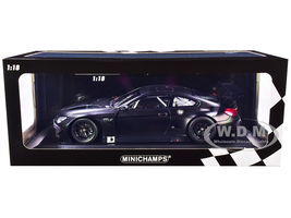 2016 BMW M6 GT3 Plain Body Version Matt Black Limited Edition 224 pieces Worldwide 1/18 Diecast Model Car Minichamps 155162610