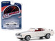 1969 Chevrolet Camaro Z/28 Dover White Black Stripes Red Interior Greenlight Muscle Series 23 1/64 Diecast Model Car Greenlight 13270 C