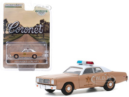 1975 Dodge Coronet Choctaw County Sheriff Hobby Exclusive 1/64 Diecast Model Car Greenlight 30188