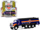 2018 International WorkStar Tanker Truck Union 76 Dark Blue Orange SD Trucks Series 10 1/64 Diecast Model Greenlight 45100 A
