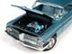 1962 Pontiac Royal Bobcat Catalina Hardtop Test Car Aquamarine 1/18 Diecast Model Car Autoworld AMM1212