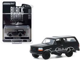 1994 Ford Bronco Black Black Bandit Series 23 1/64 Diecast Model Car Greenlight 28030 F