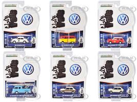 Club Vee V-Dub Set of 6 pieces Series 11 1/64 Diecast Model Cars Greenlight 30000