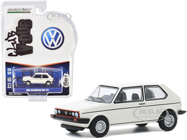 1980 Volkswagen Golf GTI Alpine White Club Vee V-Dub Series 11 1/64 Diecast Model Car Greenlight 30000 F