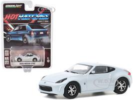 2020 Nissan 370Z Brilliant Silver Metallic Hot Hatches Series 1 1/64 Diecast Model Car Greenlight 47080 F
