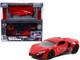 Model Kit Lykan Hypersport Red Black Wheels Fast & Furious Movie Build N' Collect 1/55 Diecast Model Car Jada 31289