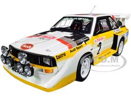 Audi Sport Quattro S1 #2 Rohrl Geistdorfer Rally Monte Carlo 1986 1/18 Model Car Autoart 88601