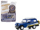 1967 Jeep Jeepster Commando Off-Road Roof Rack Blue Stripes Goodyear Racing Running on Empty Series 11 1/64 Diecast Model Car Greenlight 41110 B
