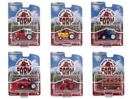 Down on the Farm Set of 6 pieces Series 4 1/64 Diecast Models Greenlight 48040