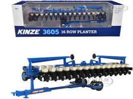 Kinze 3605 16-Row Planter Blue 1/64 Diecast Model SpecCast GPR1326