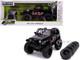 2007 Jeep Wrangler Black Extra Wheels Just Trucks Series 1/24 Diecast Model Car Jada 31560