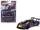 McLaren Senna Purple Yellow Limited Edition 1200 pieces Worldwide 1/64 Diecast Model Car True Scale Miniatures MGT00127