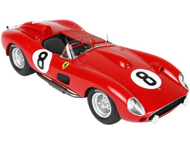 Ferrari 315S #8 Stuart Lewis-Evans Martino Severi 24 Hours of Le Mans 1957 DISPLAY CASE Limited Edition 99 pieces Worldwide 1/18 Model Car BBR C1807B