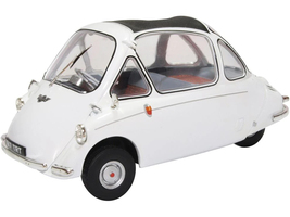 Heinkel Trojan Bubble Car RHD Right Hand Drive Grecian White 1/18 Diecast Model Car Oxford Diecast 18HE004